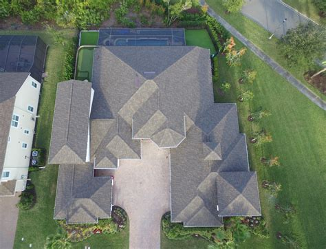 asphalt roof system helps protect home