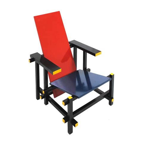 red and blue armchair red and blue 365 chair by gerrit thomas rietveld for