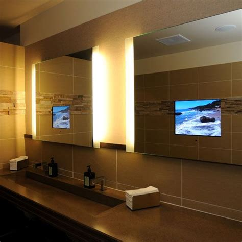 bathroom tv mirror glass 25 best ideas about bathroom tvs on pinterest tvs for