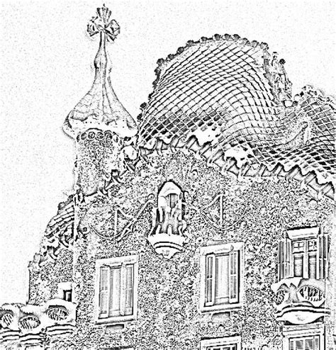gaudi colouring gaudi barcelona 69 best images about gaudi on parks architecture and gaudi mosaic