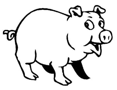 pig coloring page preschool pig coloring pages for preschoolers coloring pages