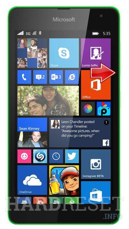 Microsoft Lumia 535 Second microsoft lumia 535 dual sim how to reset my phone