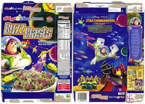 buzz blasts cereal box 2002 kelloggs todd franklin