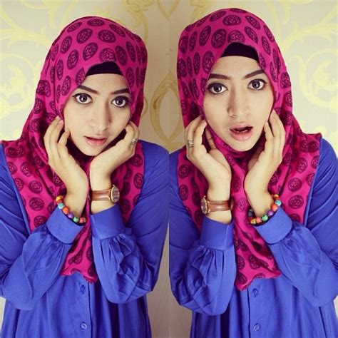 tutorial hijab segi empat natasha farani modern hijab tutorial segiempat 2015 hijabiworld