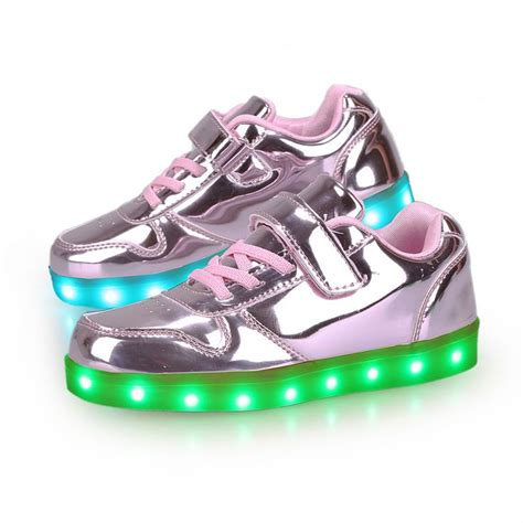 Best Quality Sandal Led Light Nyala Flower Pink best 14 zapatos con luces led ni 241 a images on and parenting