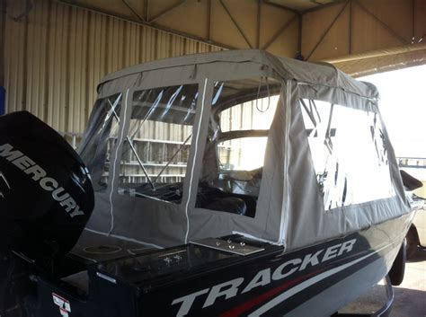 boat covers canvas products - Tracker Boat Enclosures