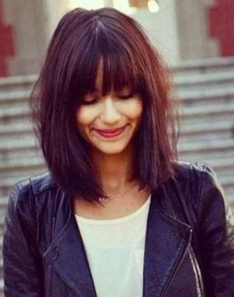 Hairstyles 2017 Bob With Fringe by 17 Best Images About Hairstyles 2016 2017 On