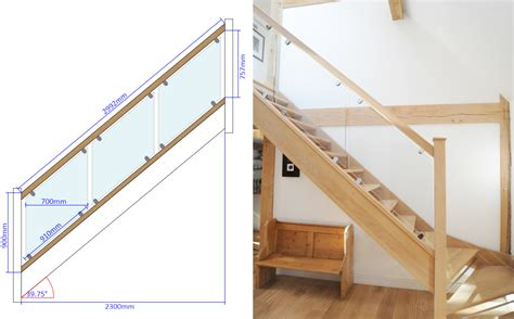 online staircase design stair parts oak clearchoice handrail grooved for glass