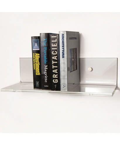 mensole plexiglass mensola in plexiglass senza reggimensola