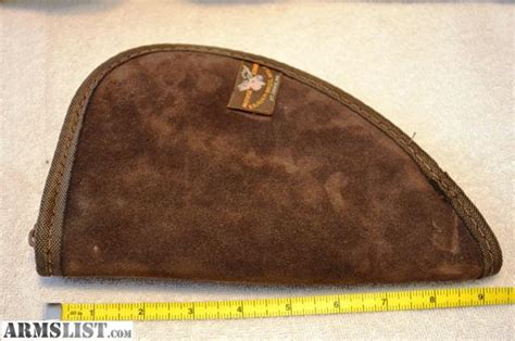 leather pistol rug armslist for sale suede leather pistol rug