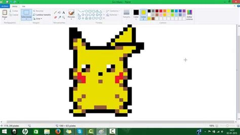 Anime 8 Bit Vs 10 Bit by Dibujando En Paint Quot Pikachu 8 Bits Quot