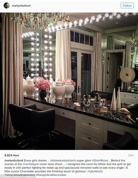 khloe bedroom kris jenner house jenner takes to snapchat to show progress of