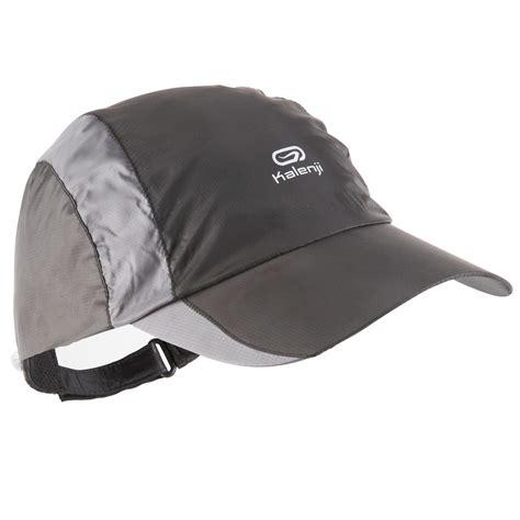 kalenji verstelbare regenpet voor hardlopen zwart   cm decathlonnl