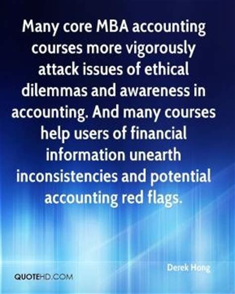 Mba Cpa Programs by Accounting Ethics Quotes Quotesgram