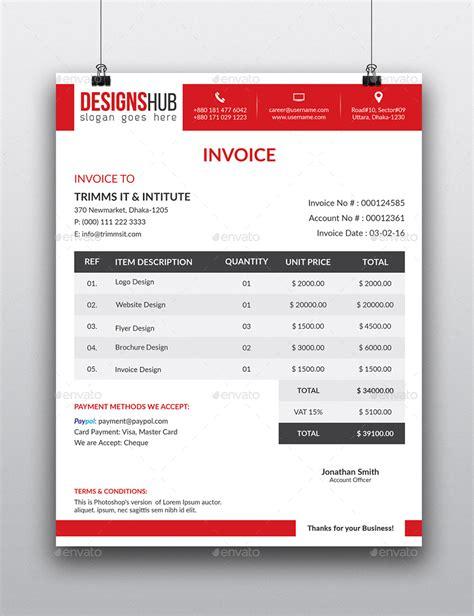 invoice letterhead design invoice letterhead bundle by researchstudio graphicriver