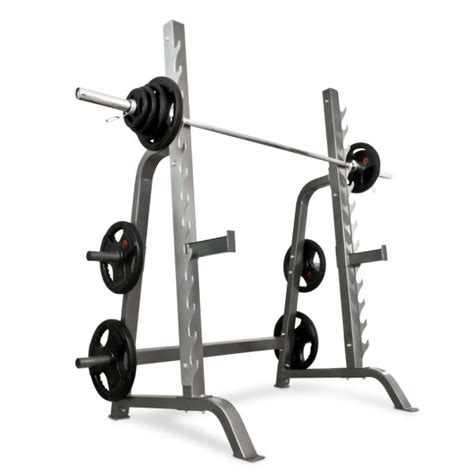 benching in the squat rack igc heavy duty multi press walk in squat rack