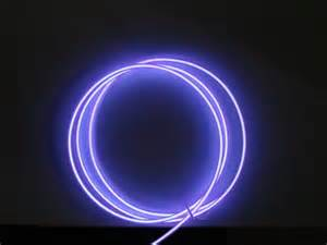 sell purple light el wire shenzhen greatworths elight co