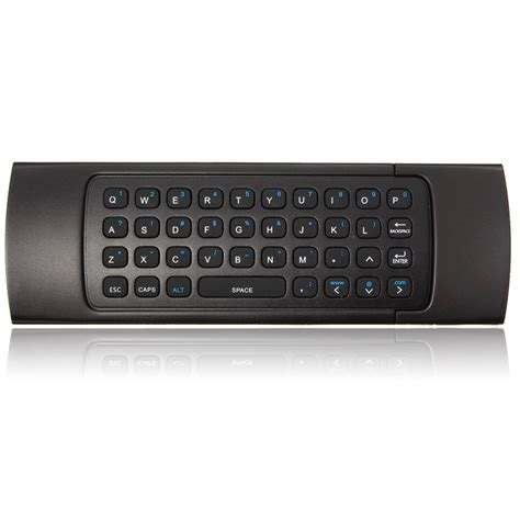 Mini Wireless Air Mouse 2 4ghz 3d Motion Stick Android Black 2 4ghz wireless keyboard fly air mouse motion sensor