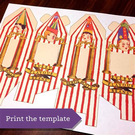 bertie botts every flavour beans template bertie bott s every flavour beans box 1