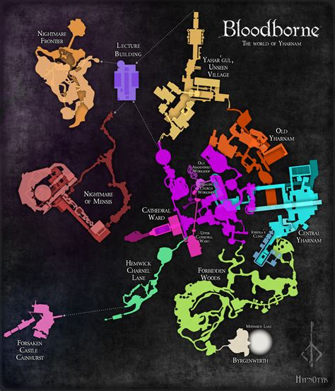Home Design Software Reddit by Fan Made Bloodborne Map Hunter S Dream Item Technabob