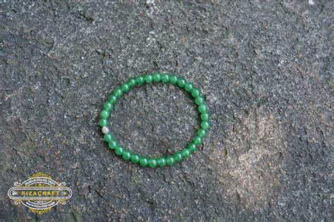 Gelang Tasbih Batu gelang tasbih batu aventurine hijau 33 butir 171 jual gelang