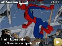 spectacular spider man tv series video