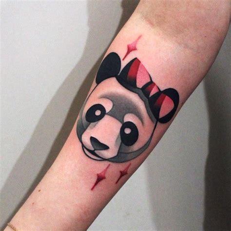 panda cub tattoo 362 best panda tattoos images on pinterest panda tattoos