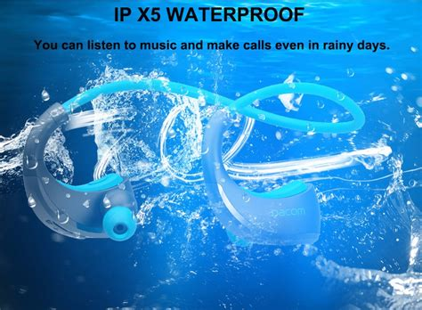 Dacom Armor Sport Bluetooth Earphone With Microphone dacom armor g06 ipx5 waterproof bluetooth wireless headphones sports running headset ear hook