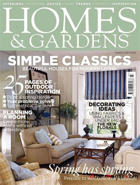 houses magazine homes gardens march 2011 187 download pdf magazines