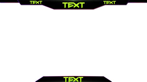 Overlay Stream Twitch Twitch Template