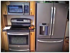 new appliance colors klenk s appliance ge appliance s new slate color is