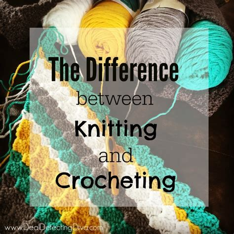 difference in crochet and knitting the difference between knitting and crocheting master