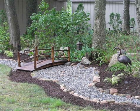 backyard dry river bed dry river creek bed ideas to help with water run off