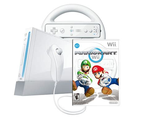 wii console bundle nintendo wii walmart selling mario kart wii console