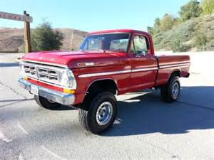 sell used 1972 ford f100 4x4 box 460 v8 4 speed 4