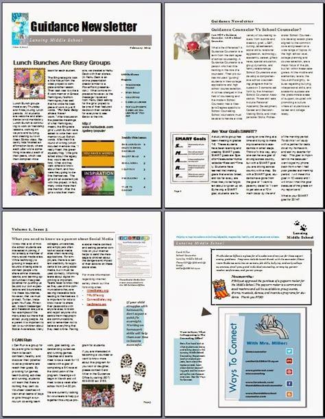 school counselor newsletter 1000 ideas about kindergarten newsletter on