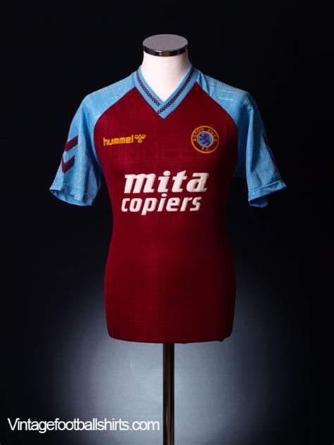 90s aston 1989 90 aston villa home shirt xl for sale