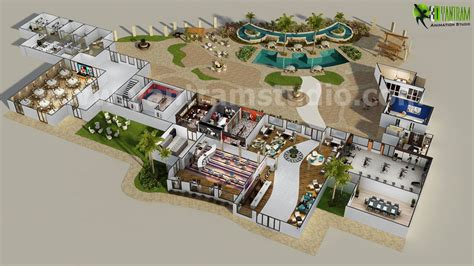 site plan design 3d resort site plan layout concept design by yantram 3d