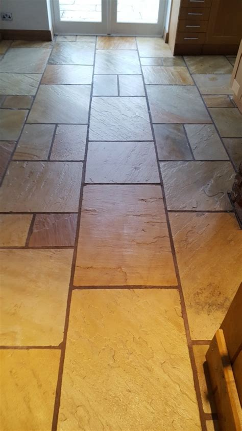 care of sandstone floors restoring the appearance of a sandstone kitchen floor