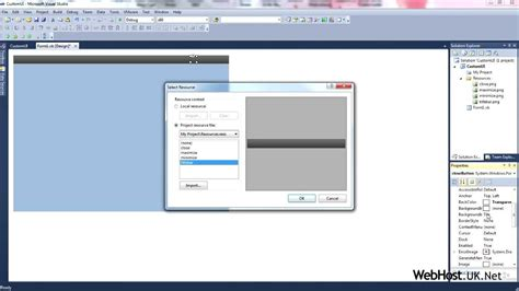 customizing ui layout in the visual editor custom ui in visual basic vb lesson 03 youtube