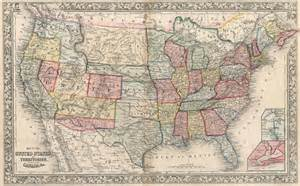 map of 1861 united states file map of the united states and territories together