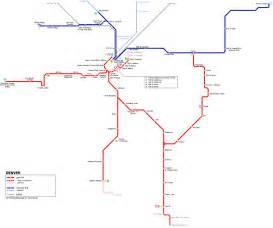 denver lights map urbanrail net gt usa gt denver light rail