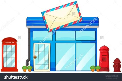 Post Office Address Finder Name Post Office Building Clipart 101 Clip
