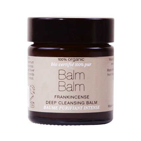 What Is Detox Balm by Balm Balm Frankincense Cleansing Balm Review