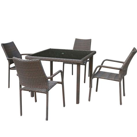 tj hughes dining table and chairs rattan effect cube table and 4 chairs garden set
