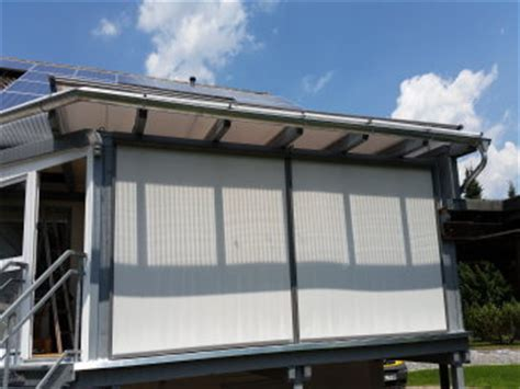 Markise Sonnenschutz by Fenstermarkise Senkrechtmarkise Markise Seitenmarkise