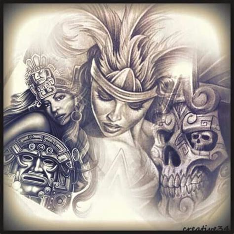 mexican tattoo designs art chicano arte ideas chicano