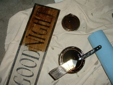 Americanprim Primitive How To S Ageing And Stencilling