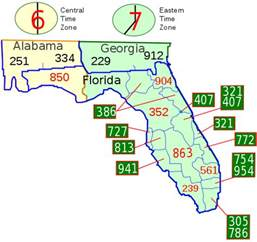 florida area code map file area code fl svg wikimedia commons