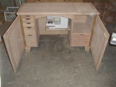 Sewing Cabinet I Made For My Wife S Janome Quilting Sewing